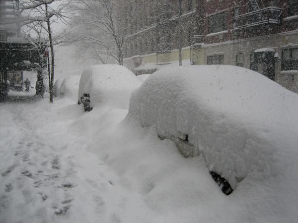 аномальные снегопады в США_2