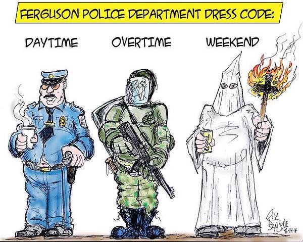 дресс-код полиции Фергюсона