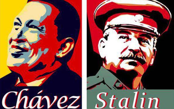 Сталин и Чавес