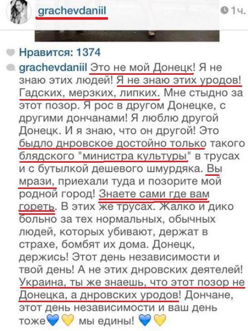 свидомый Грачёв