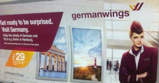 сюрприз от Germanwings