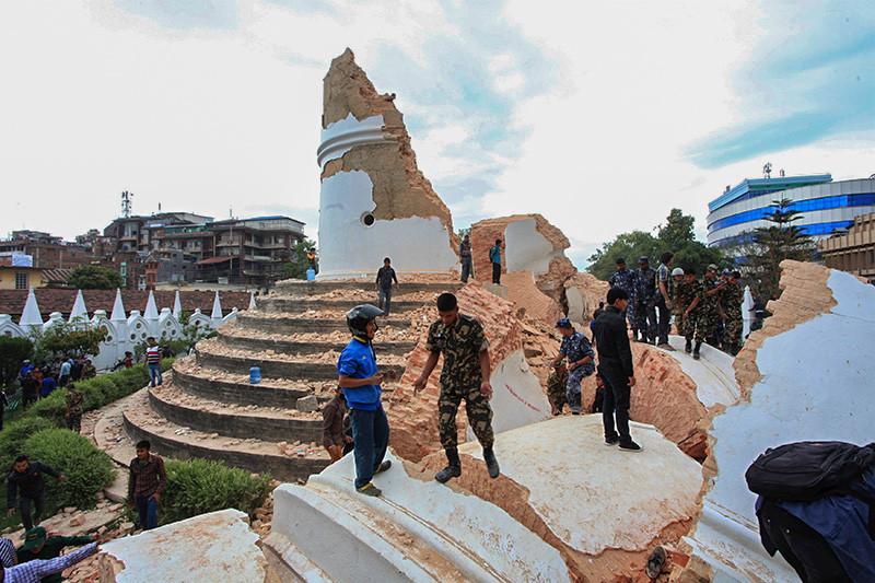 землетрясение в Непале_25 апреля 2015_2
