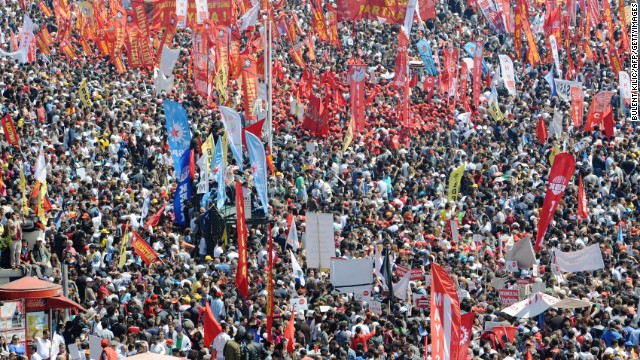 Первомай Турция 2012