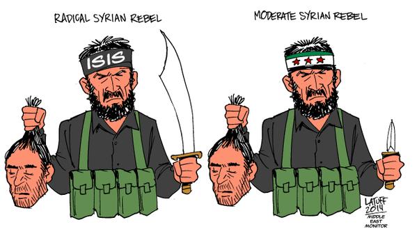 разница между ИГ и сирийской оппозицией