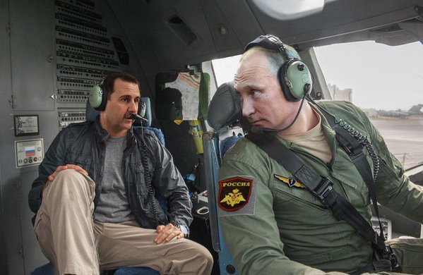 Путин с Асадом бомбят умеренных