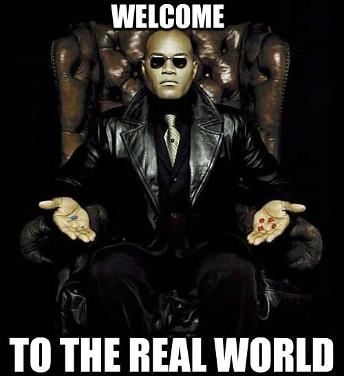 добро пожаловать в реальный мир