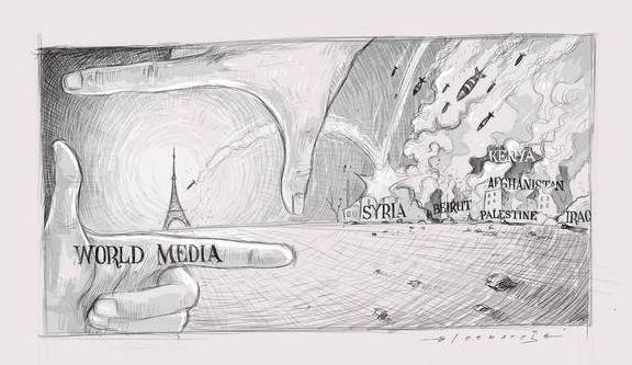 двуличие мировых медиа