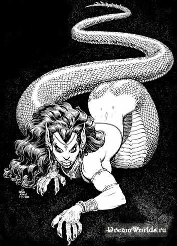 женщина-змея