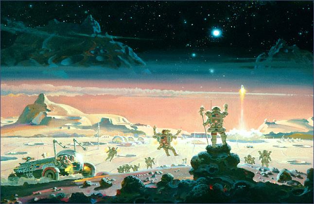 04. Первооткрыватели космической границы