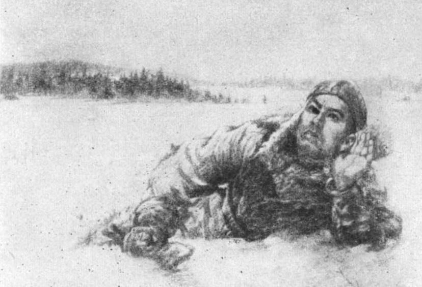 Алексей Маресьев_с рисунка Н.Жукова