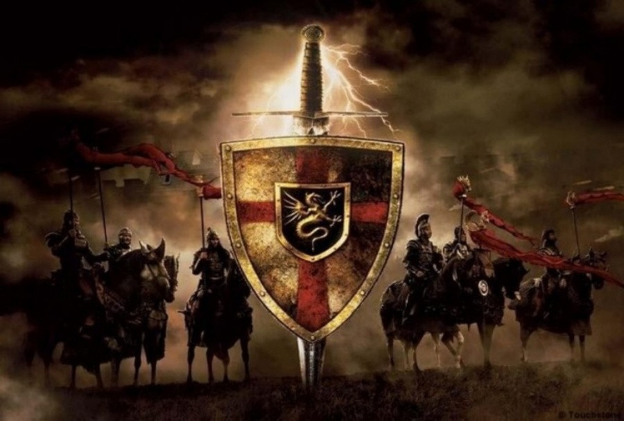 герб Утера Пендрагона
