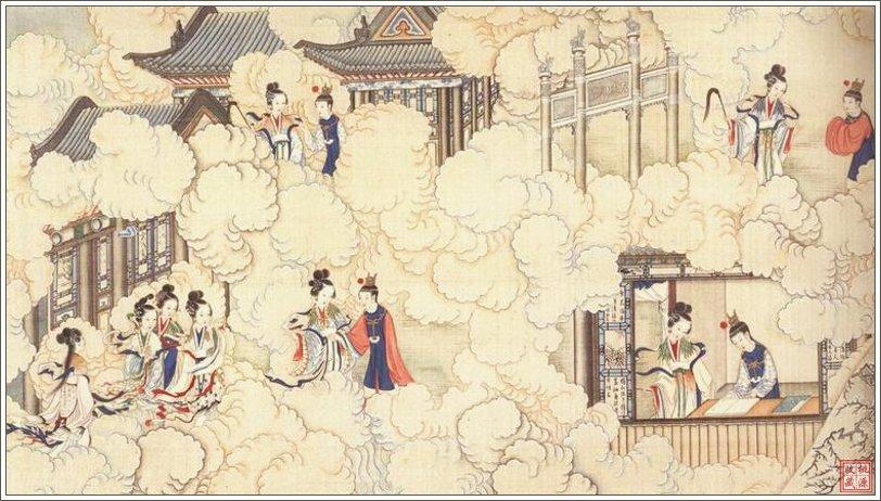 иллюстрация Вэнь Цина к роману Сон в красном тереме