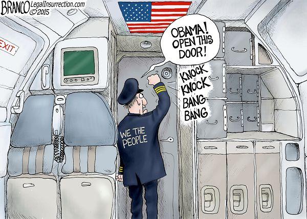 Обама открой дверь