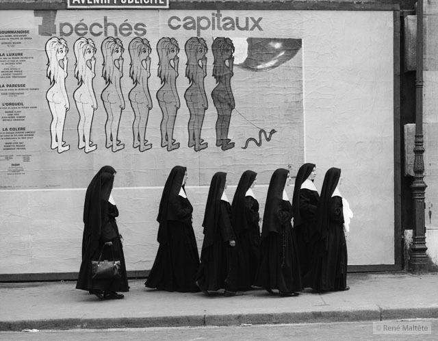 монахини днём