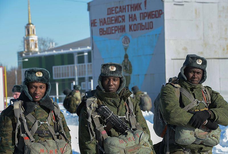 путинские парашютисты