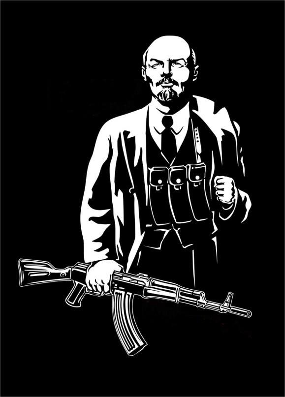 Ленин с АК