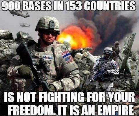 900 баз США в 153 странах