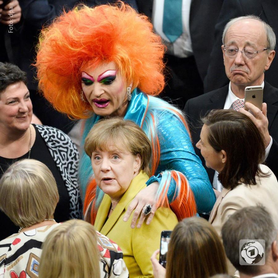 Меркель и ахтунг