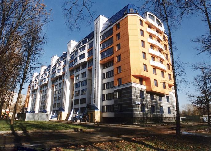 реконструированная пятиэтажка