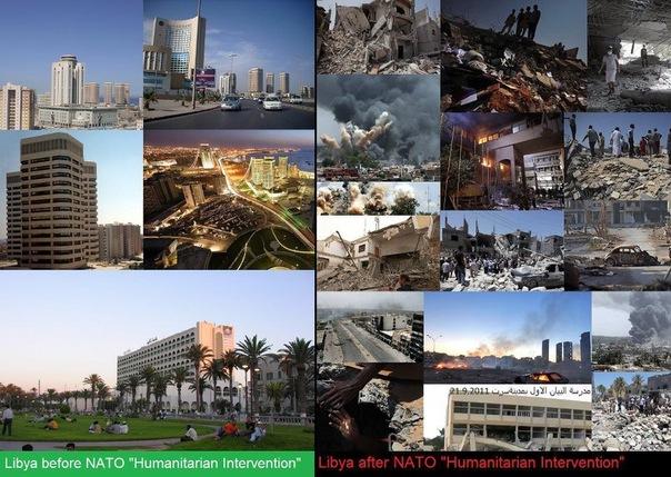Ливия до и после демократизации