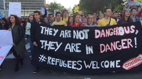 беженцы, добро пожаловать