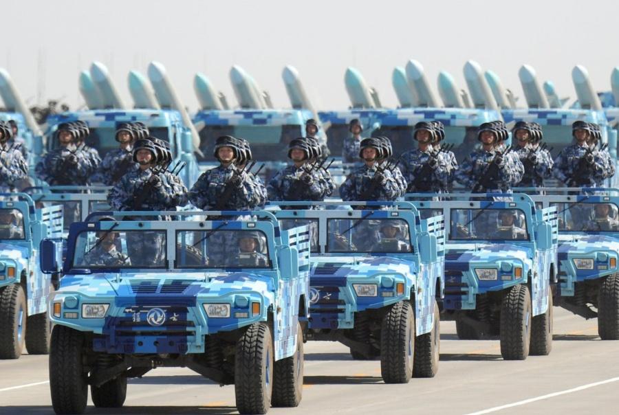 парад в КНР по случаю 90-летия НОАК_30.07.2017