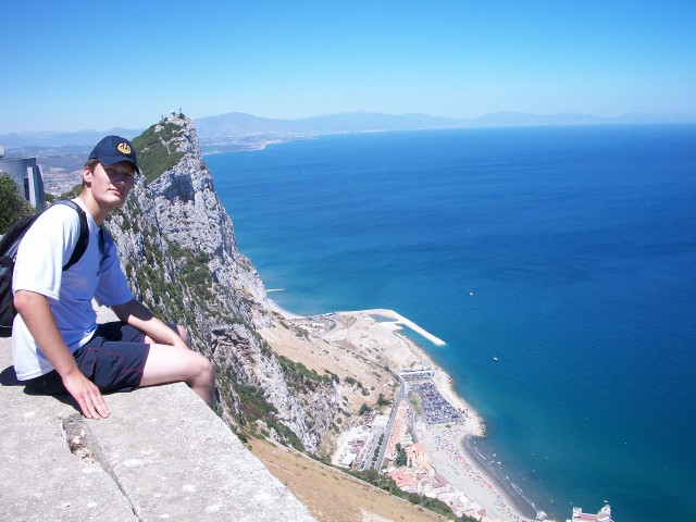 Гибралтар, гора Европа