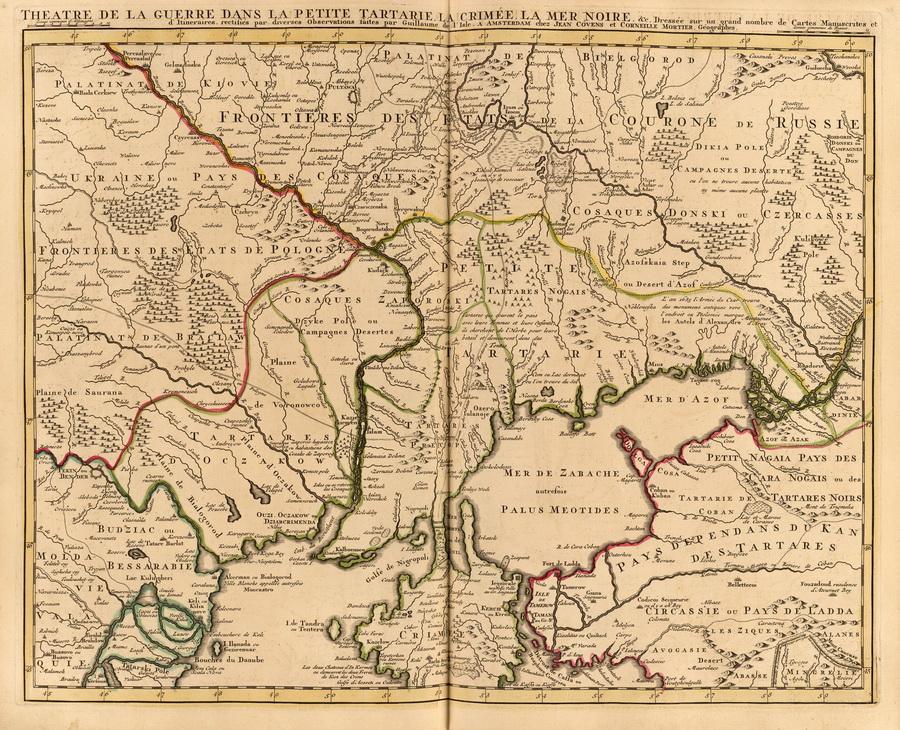 Театр военных действий, Малая Орда и Крым 1742