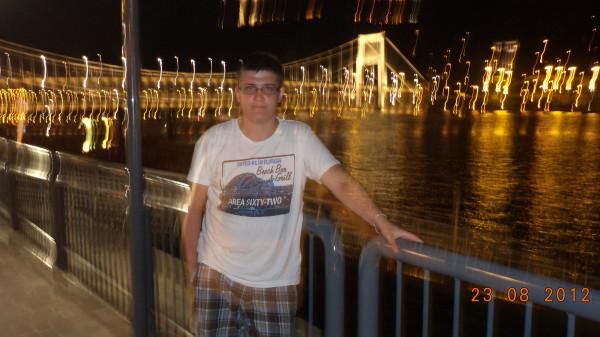Ночная прогулка по Дунаю