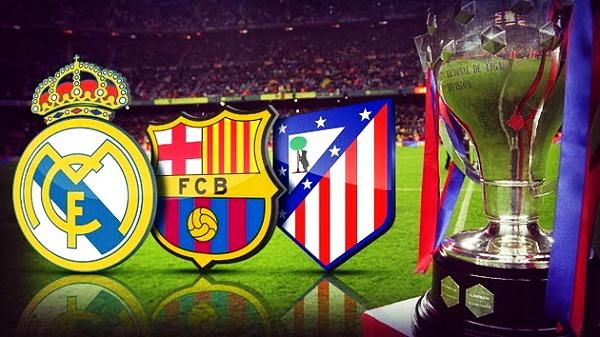 Real Madrid, FC Barcelona y Atlético de Madrid