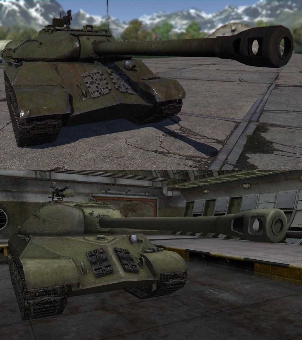 Танк ИС-3 в War Thunder и WoT, gosu-wot.com