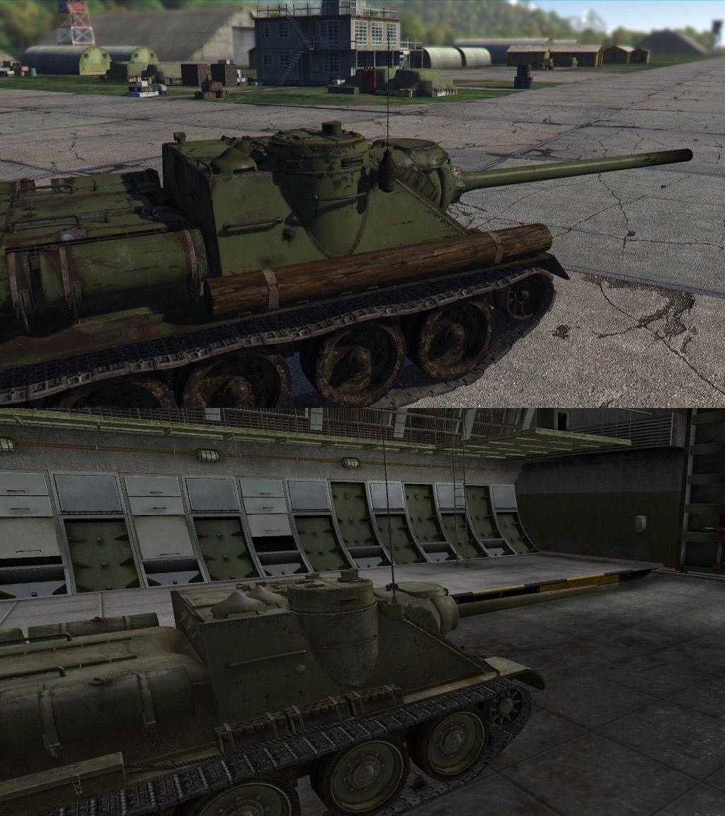 ПТ-САУ СУ-100 в War Thunder и WoT, gosu-wot.com