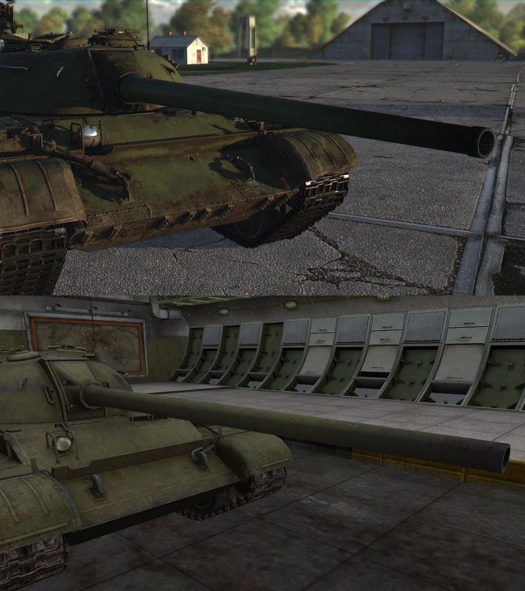 Танк Т-54 в War Thunder и WoT, gosu-wot.com