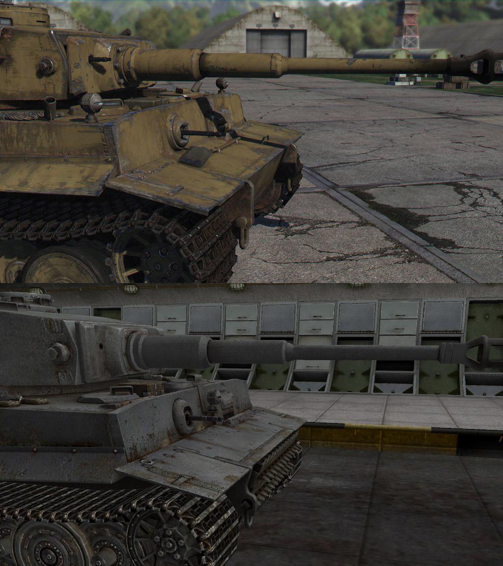 Танк Tiger в War Thunder и WoT, gosu-wot.com