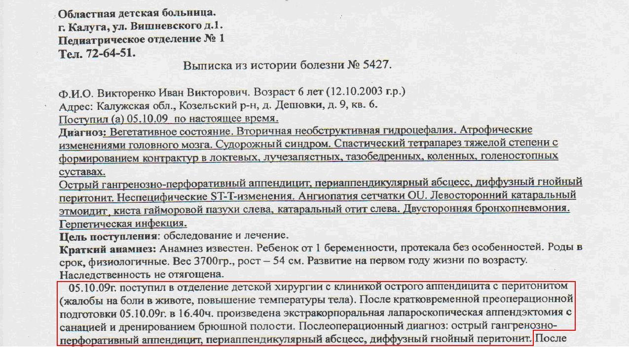 Выписка из истории болезни Улица Шкулёва норма натрия в биохим.анализе крови
