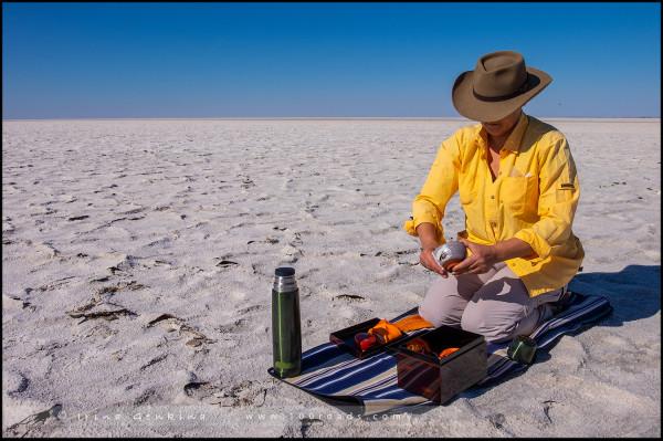 Озеро Эйр, Lake Eyre, Кати-Танда, Kati Thanda, Австралийский Аутбэк, Outback, Южная Австралия, South Australia, Австралия, Australia