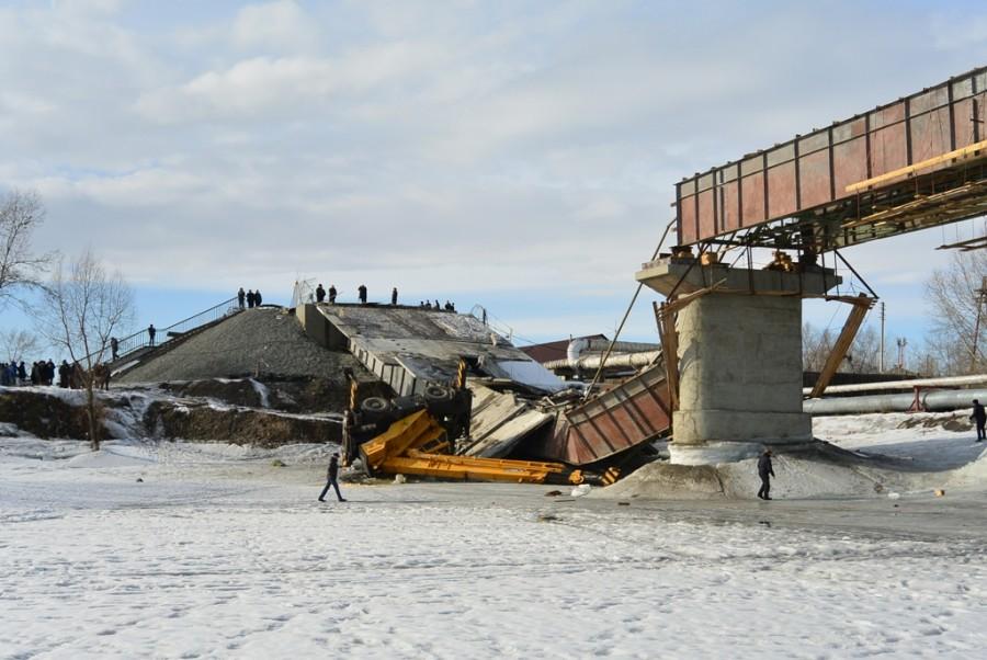 Обрушение пролёта моста.: igfn