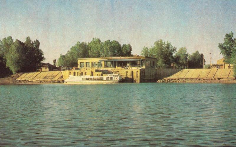 Минусинская пристань