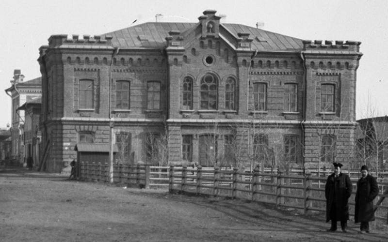 Здание музея 1903 год, фотограф Н.В. Федоров