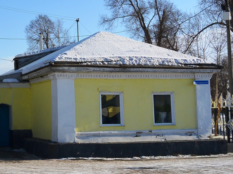 Первое кирпичное здание Минусинска