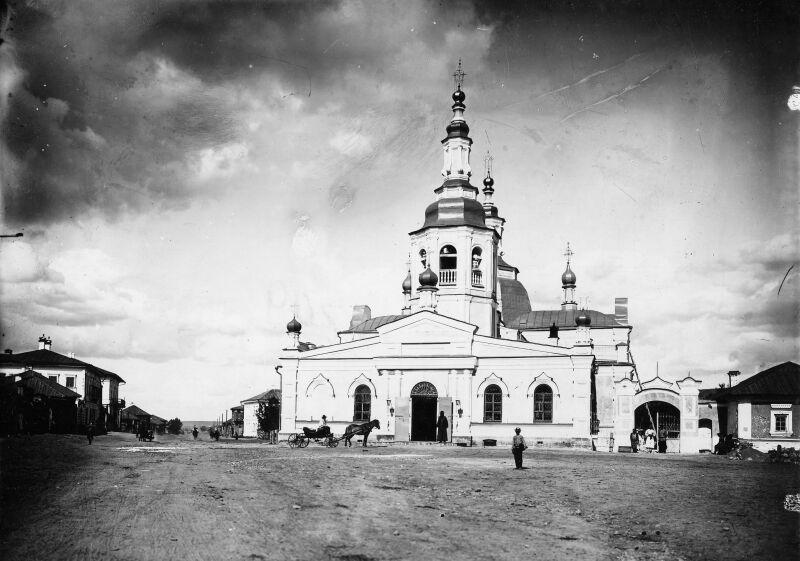 Спасский собор начало ХХ века.