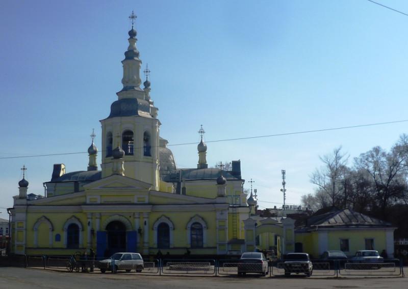 Спасский собор. Минусинск, апрель 2019 года.