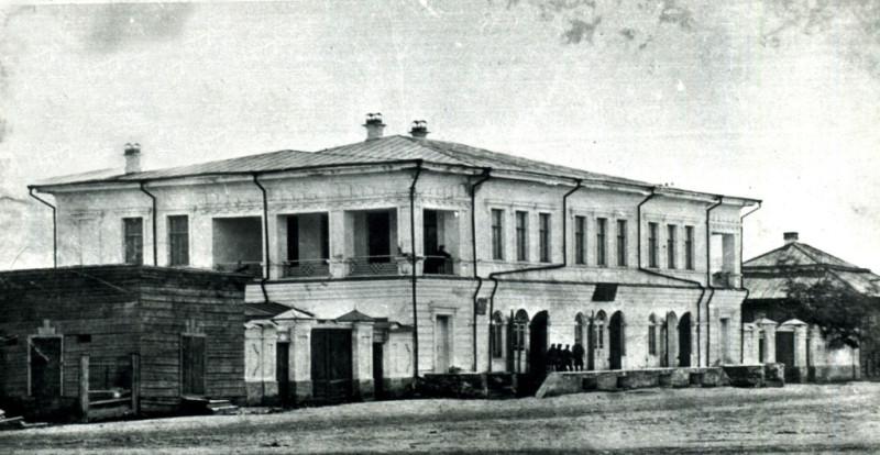 Дом Беловой, XIX век.