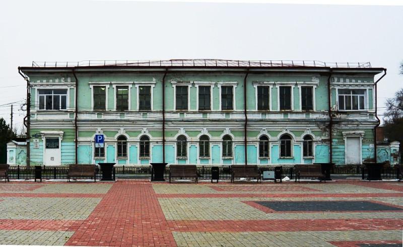 Современный вид дома Беловой.