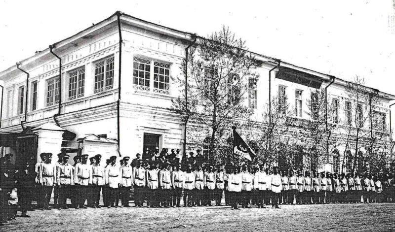 Дом Беловой, начало ХХ века.