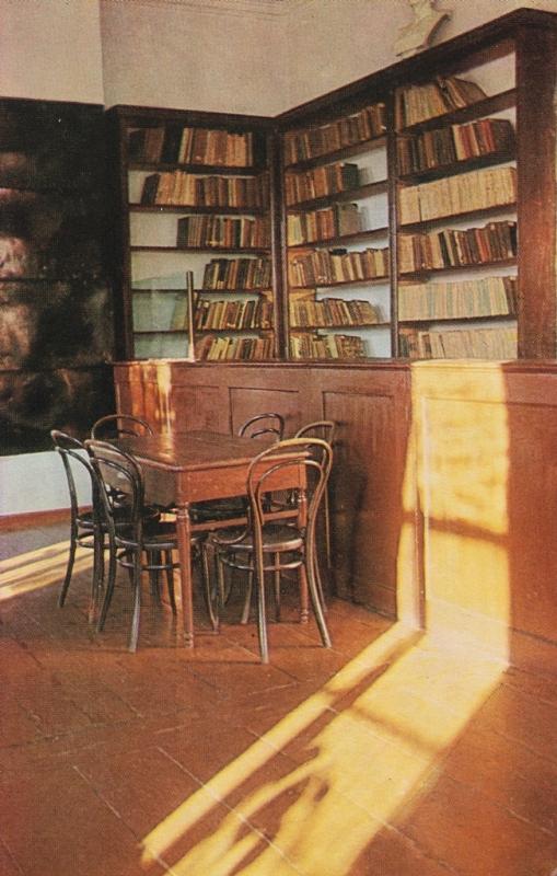 Читальный зал музея Мартьянова, где работал Ленин