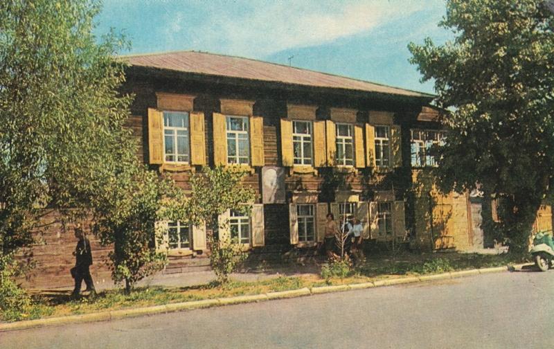 Дом политического ссыльного Е.Е. Брагина