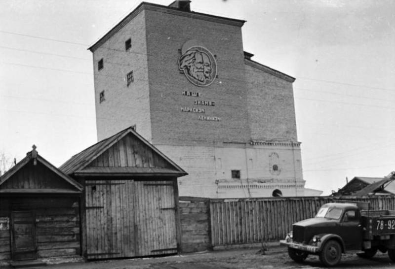 Минусинский пивзавод 1967 год.