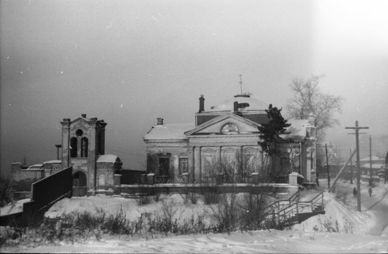 Начало 1970-х. В бывшем храме проходит реставрация, в 1980 году здесь разместится томский планетарий