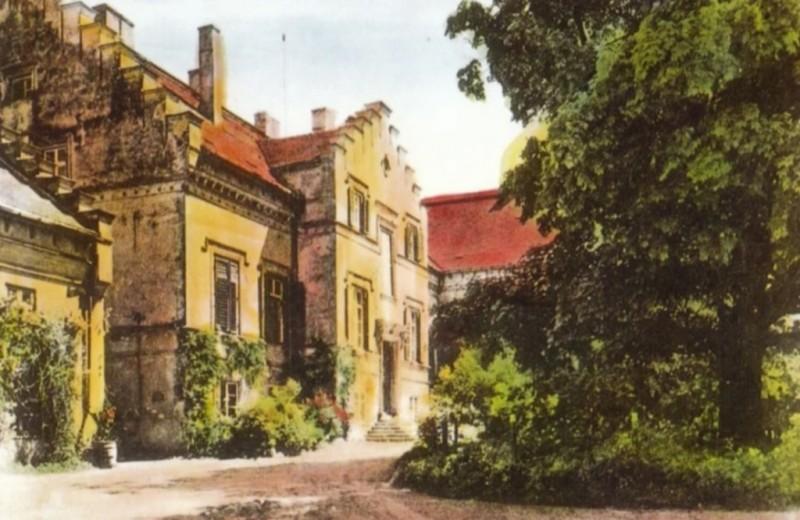Открытка 30-х годов ХХ века с видом замка Гердауэн